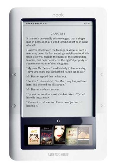 Nook-e-reader