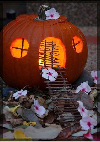 Pumpkin house 2