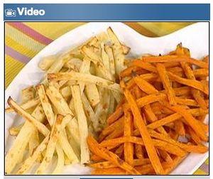 Un-fried fries video