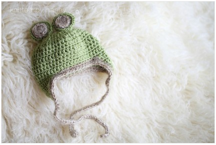 Baby teddy bear hat--etsy