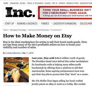 Inc:ETSY