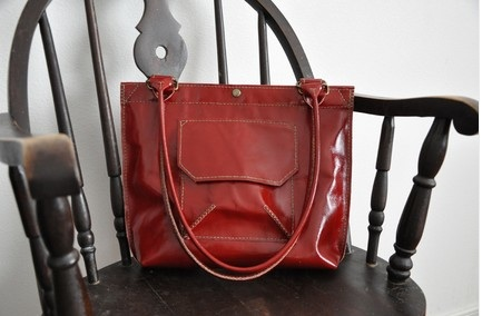 handsewn leather bags by joanna