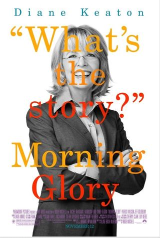Morning glory movie reviewed by Chris Olson