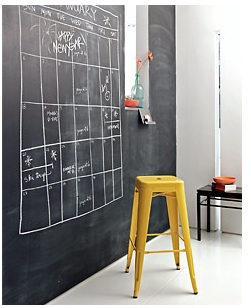 Chalkboard Paint via thenest.com
