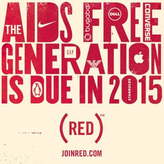 AIDS-join red