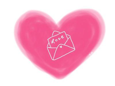 Love letter doodle