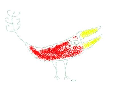 bird doodle by Chris Olson