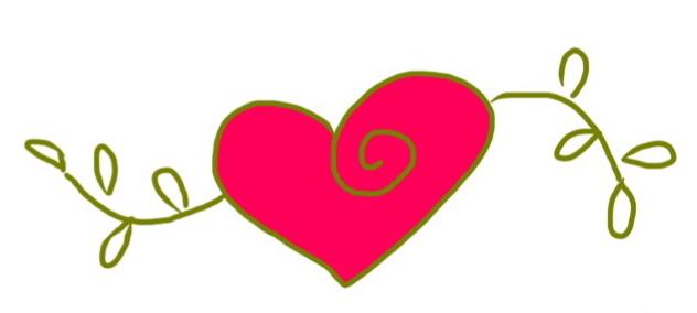 heart art by Chris Olson