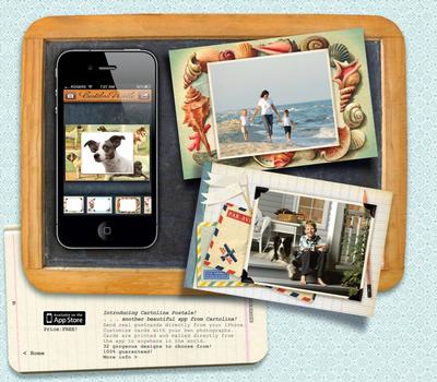 Cartolina postcard app