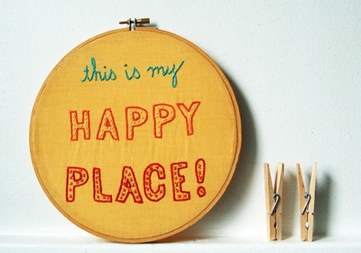 """This is my happy place"" by Danielle on Etsy"