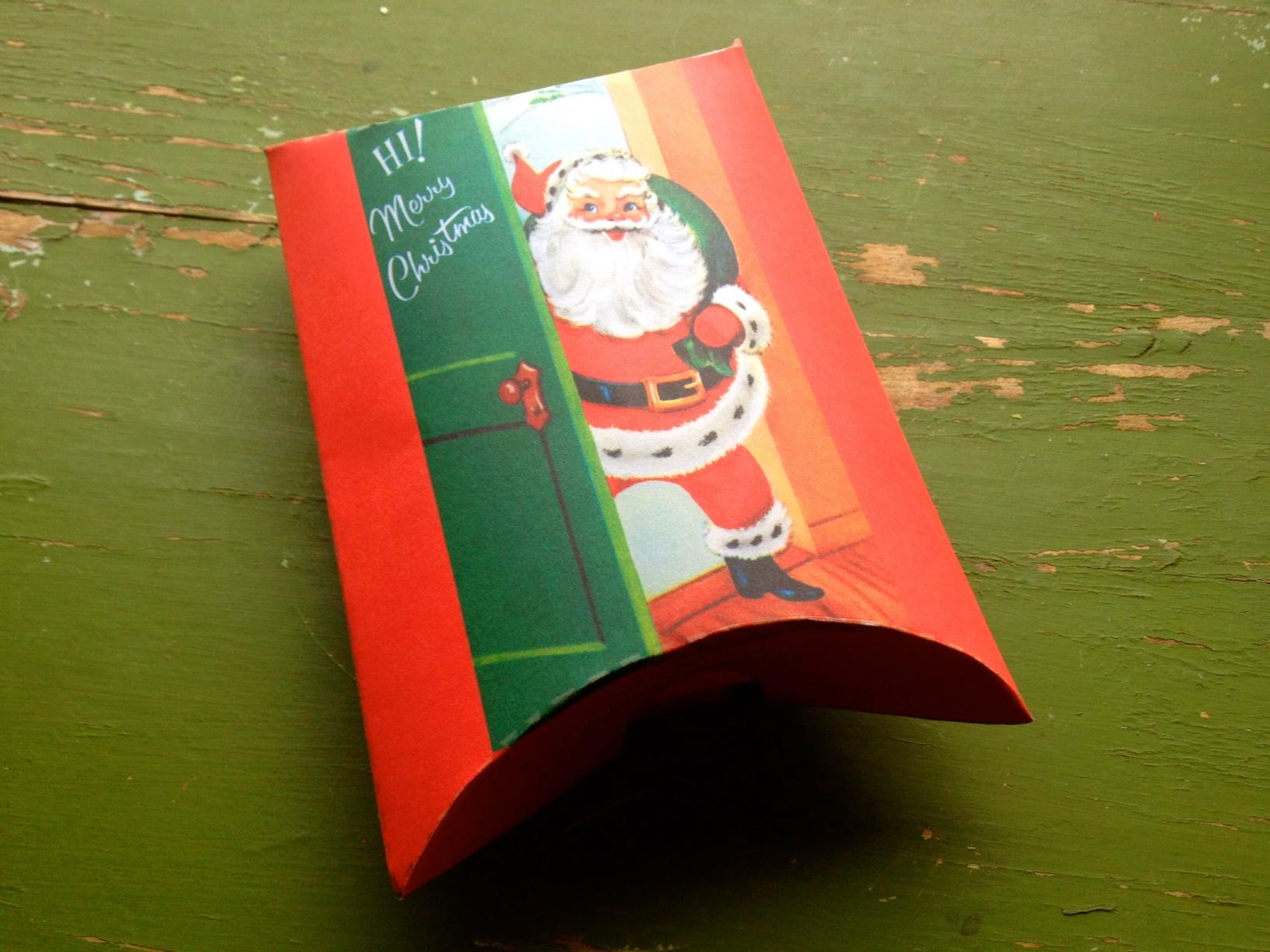 Diy Pillow Gift Box Template Diy Campbellandkellarteam