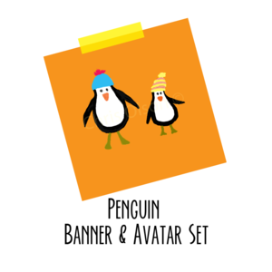 Penguin pair listing 800x800