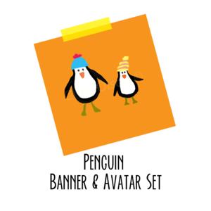 Penguin pair listing 800x800