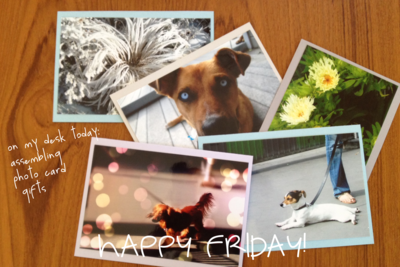 ON MY DESK TODAY-CARDS