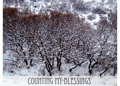 Counting my blessings art