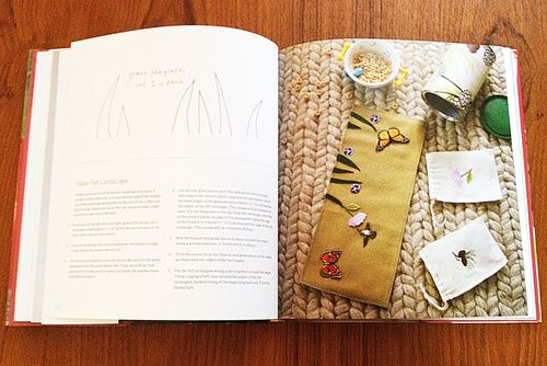 Small bags project in the book Weekend Handmade by Kelly Wilkinson