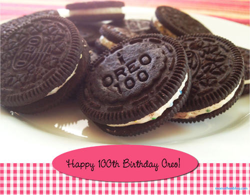 Oreo cookie image, Happy 100th Birthday