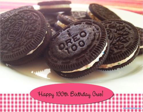 Oreo cookie image, Happy 100th Birthday