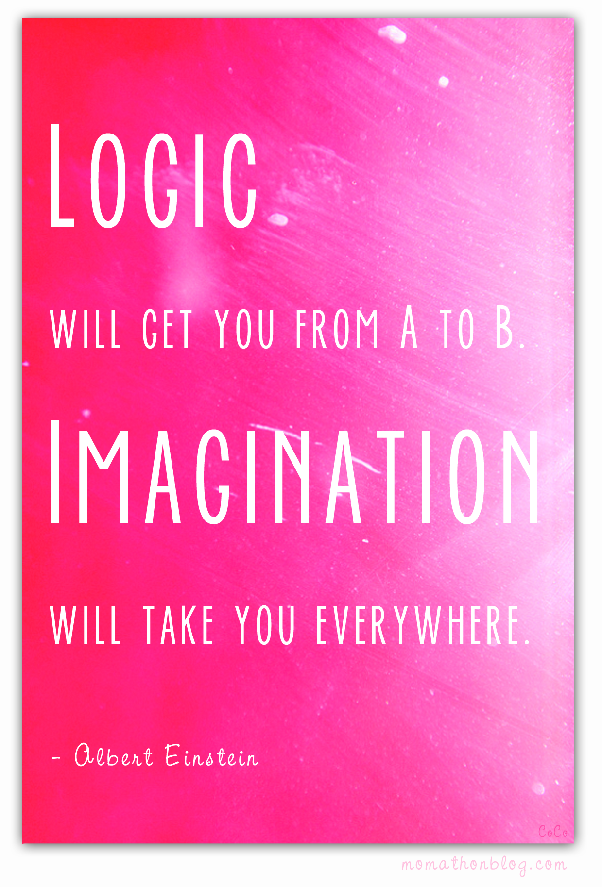 Einstein quote (graphic by Chris Olson)