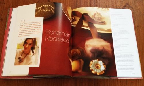 Bohemian Necklace project in the book Weekend Handmade by Kelly Wilkinson