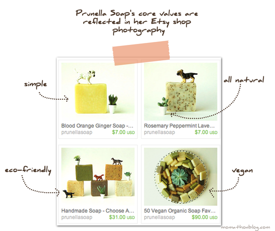 Prunella Soaps Core Values