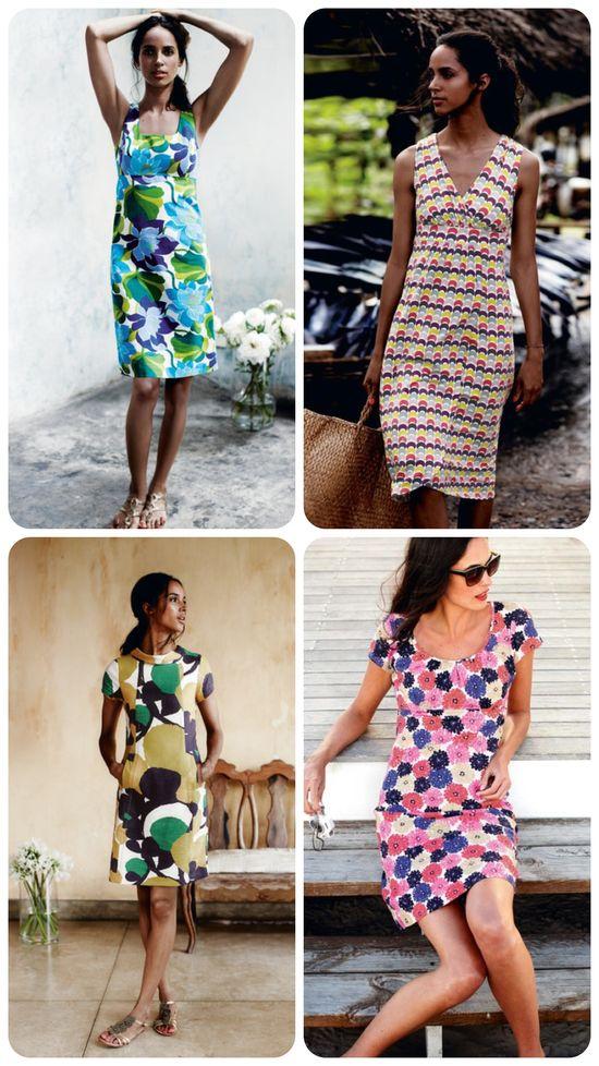 4 versatile summer dresses