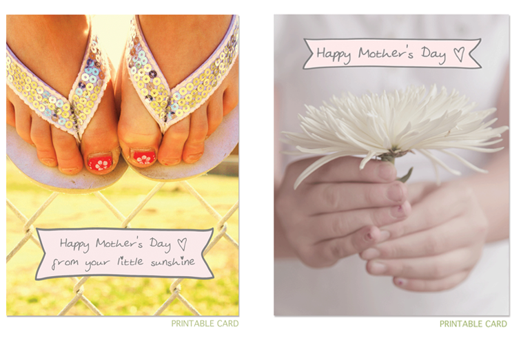 Printable: Mother's Day Cards (free)