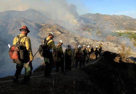 Waldo canyon fire, photo by KRDO