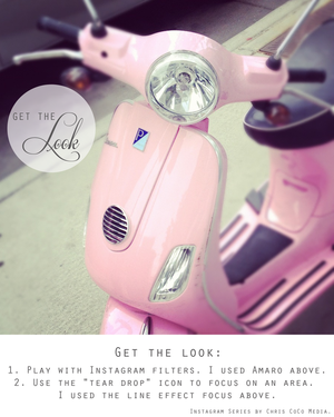 GET THE LOOK series: Add Some Glam in Instagram