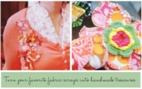 35 Projects Using Fabric Scraps-small image