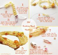 DIY- Sunshine Bead Necklace