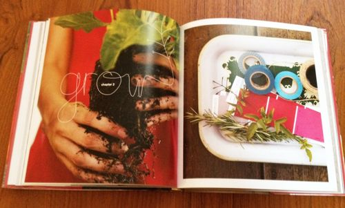 Grow section in the book Weekend Handmade by Kelly Wilkinson