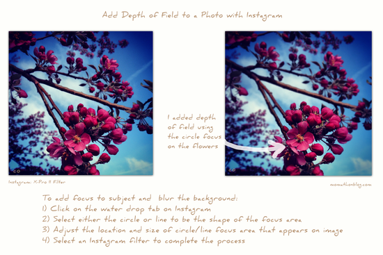 How to Add Depth of Field to a Photo with Instagram