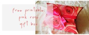 Crop-pink rose printable promo