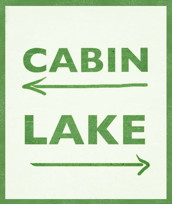 Cabin or Lake