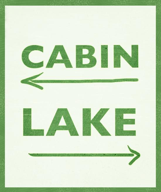 Cabin or Lake