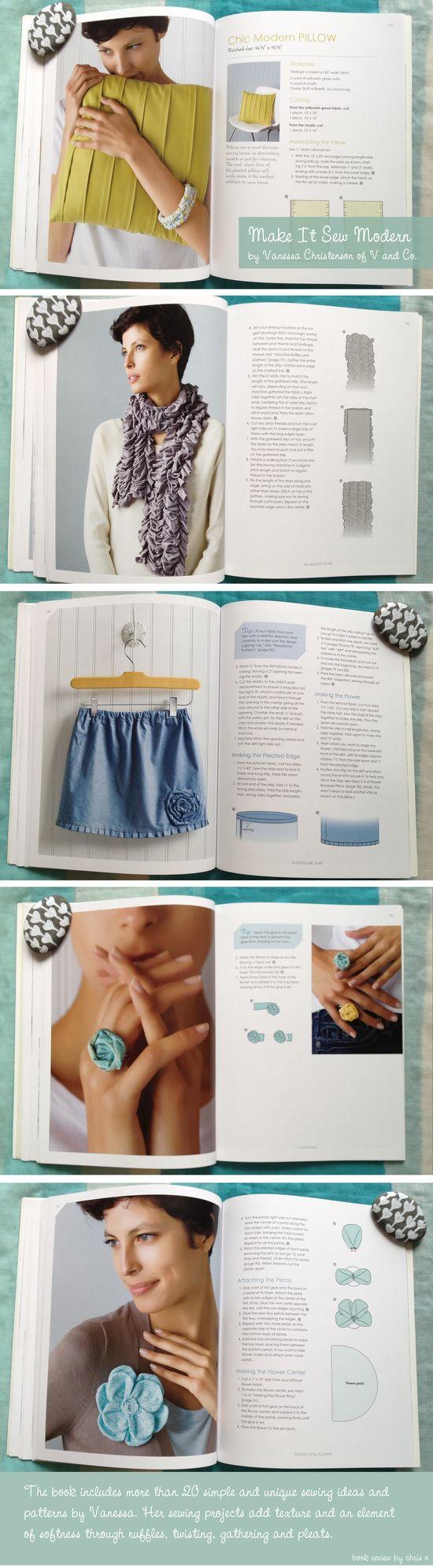 Make It Sew Modern book review