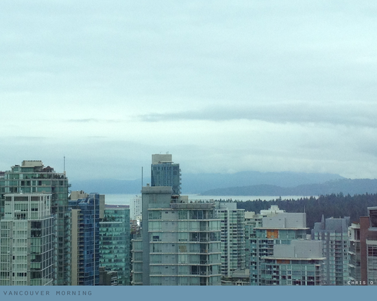 Vancouver morning photo, Chris Olson