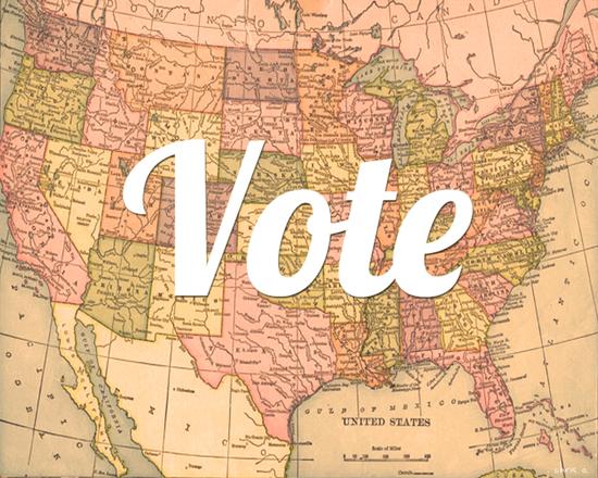 VOTE, art by Chris Olson