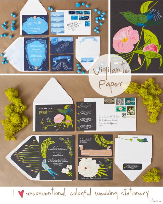 Vigilante Paper, Wedding Stationery