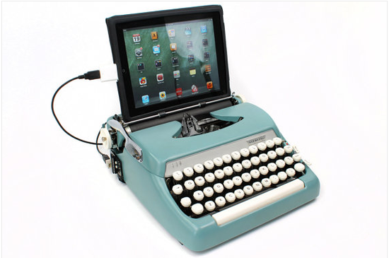 Retro_typewriter_keyboard_for_iPad