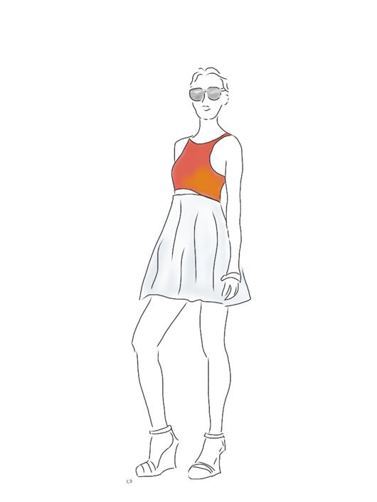 Amber_Perley_Mod_Flare_Dress_Express