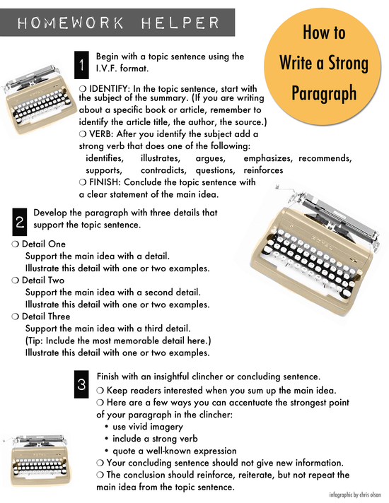 How_to_Write_a_Paragraph