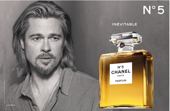 Chanel No.5 campaign with Brad Pitt