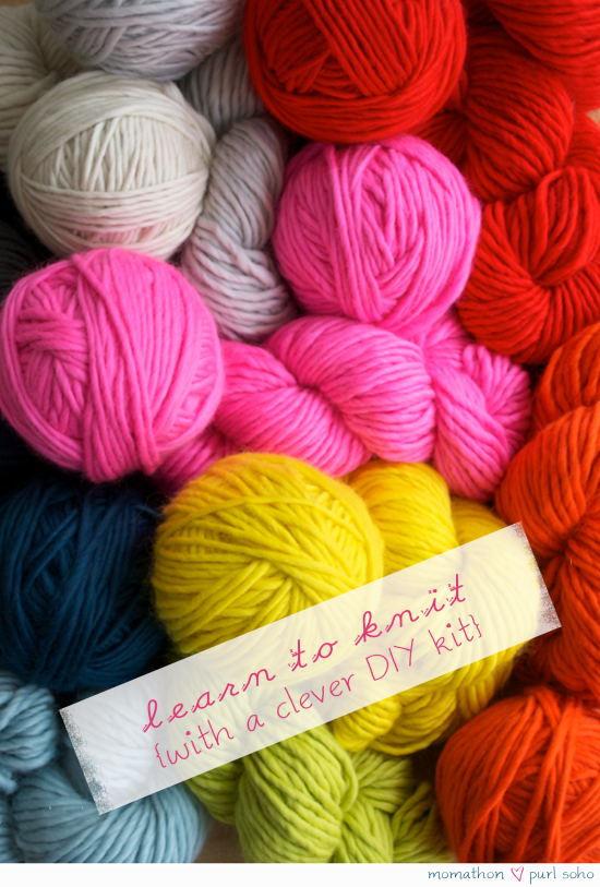 Learn_to_knit_kit_at_Purl_Soho