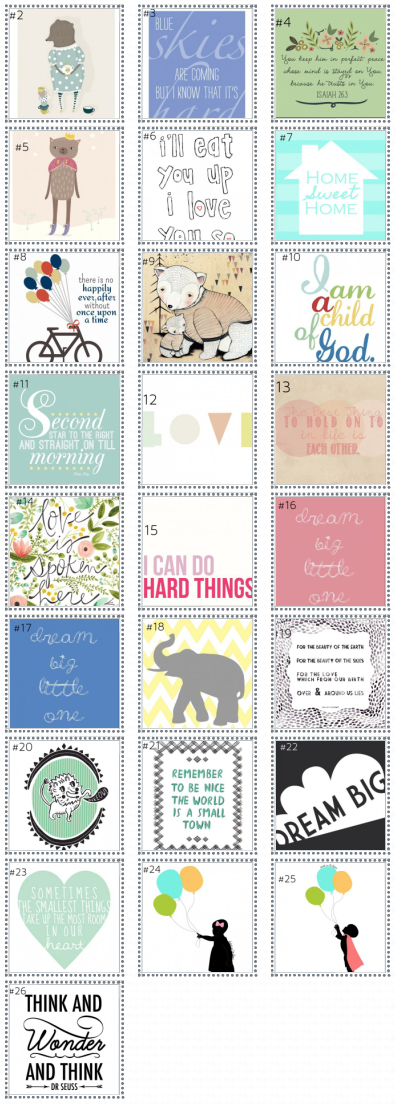 Prints for brielle-26 designs