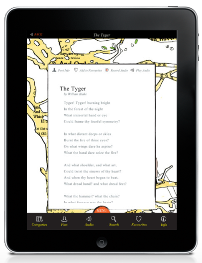 iF Poems app