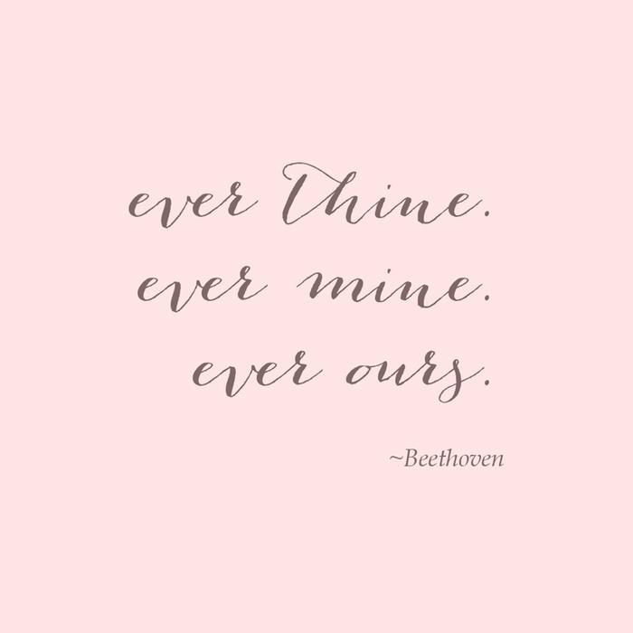 Ever thin, ever mine