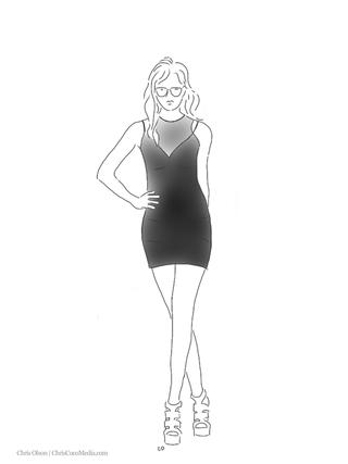 Hunter_Bell_Mesh_Ponte_Dress