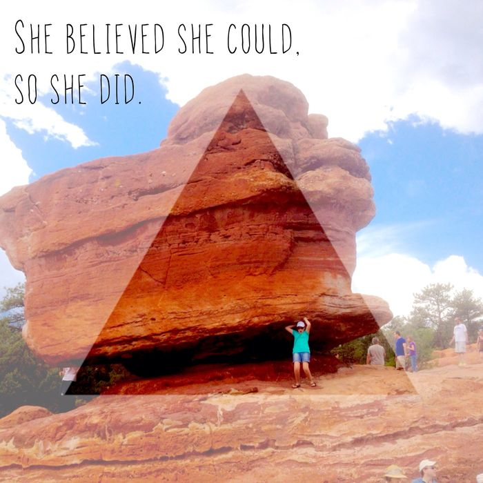 Gardn of Gods-She believed